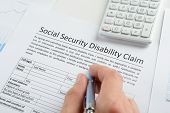 stock photo of social-security  - Close - JPG