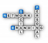 picture of blue white  - Personal Branding Social Network  - JPG