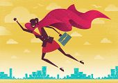 picture of valiant  - Businesswoman flies off to rescue another business deal that is need of her super powers - JPG