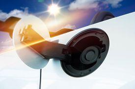 foto of inlet  - Gas Inlet Car Fueling - JPG