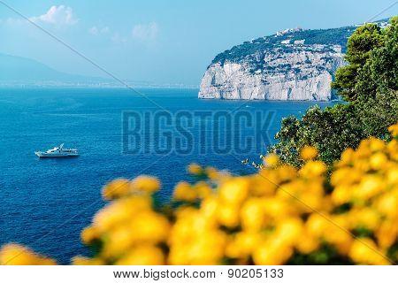 Picturesque Piano Di Sorrento, Amalfi Coast. Italy