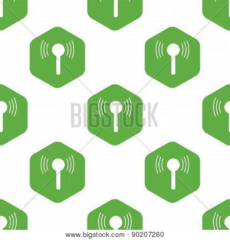 Signal sign pattern