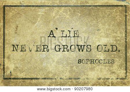 Lie Sophocles