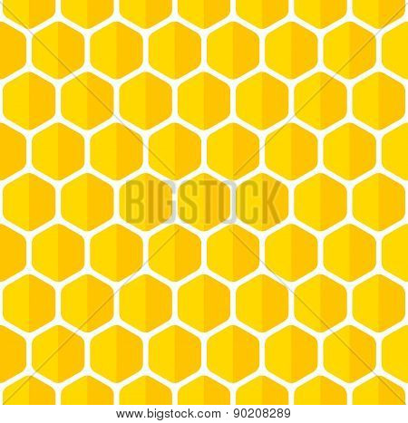 Beautiful honeycomb seamless background.