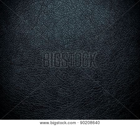 Charcoal color leather texture background