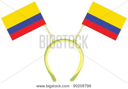 Witty Headdress Flags Colombia