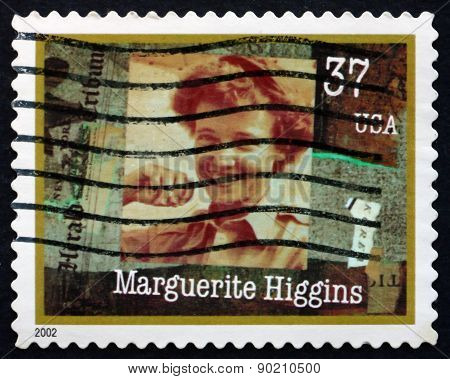 Postage Stamp Usa 2002 Marguerite Higgins, American Reporter