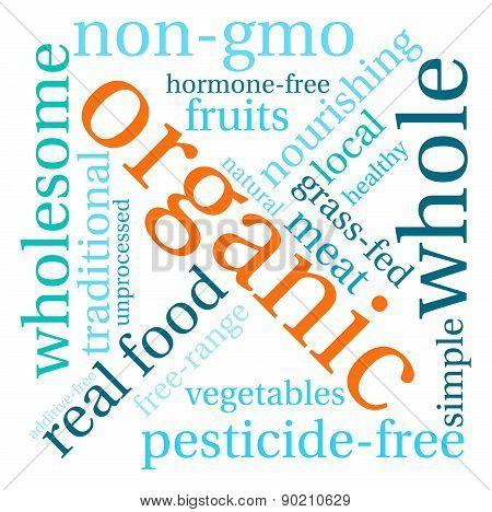 Organic Word Cloud