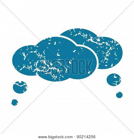 Thought clouds icon