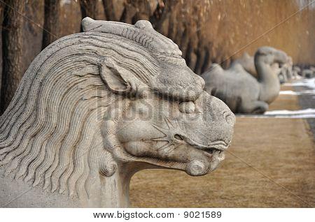 Xiezhi Statue
