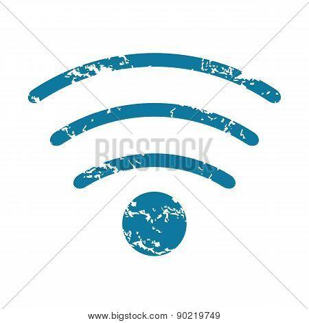 Wi-Fi grunge icon