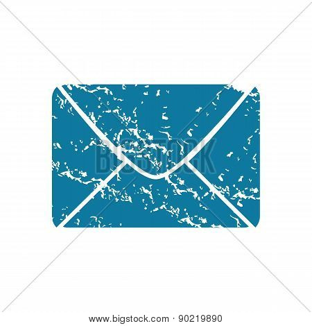 Envelope grunge icon
