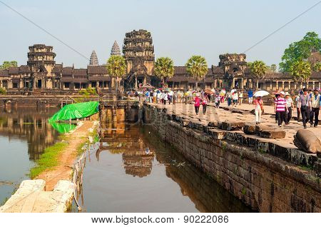 Angkor Wat The Moat