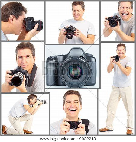 Man With A Photo Camera