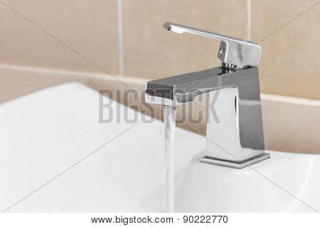 Faucet In Bathroom