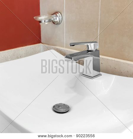 Faucet In Bathroom
