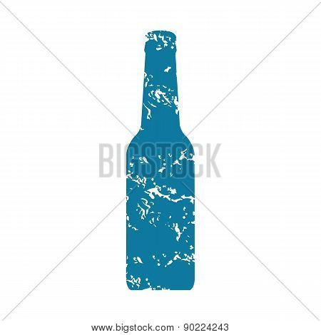 Bottle grunge icon
