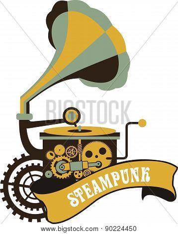 Steampunk Padlock