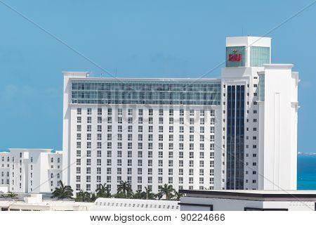MEXICO CANCUN - 5 MARCH 2015: Riu hotels