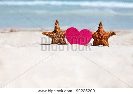 Honeymoon On Caribbean Beach