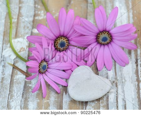 Flowers And Heart