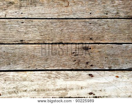 Old Panel Wooden Background