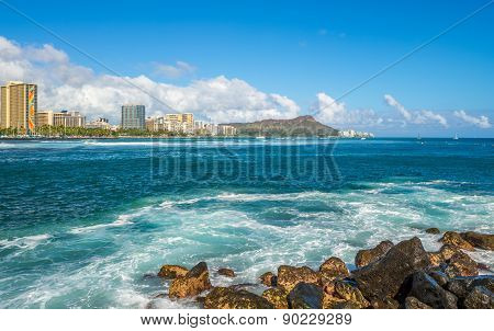 Diamond Head Hawaii.