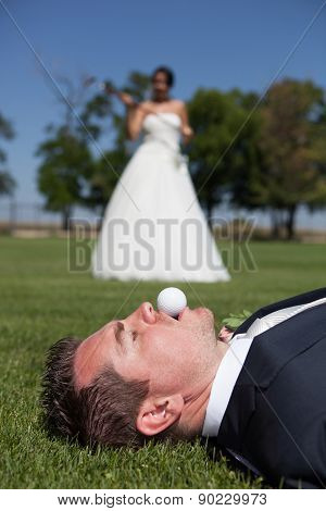 Golf And Wedding
