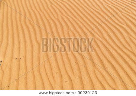 Dunes Erg Chebbi near Merzouga, Morocco - sand texture