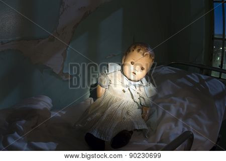 Neglected Baby doll