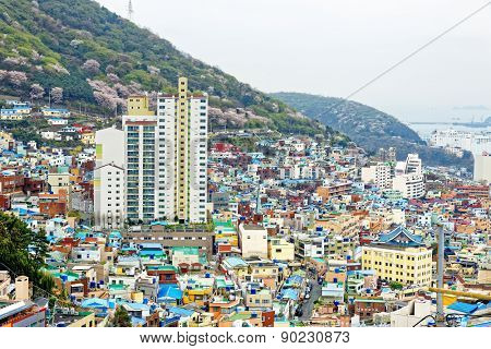 Gamcheon Culture Village, Busan, South Korea.