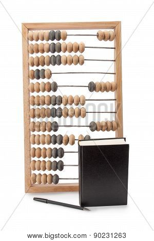 Abacus Notebook And Pen