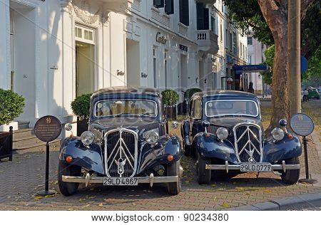 Citroen Traction 15 Familiale 1956 Cars In Hanoi