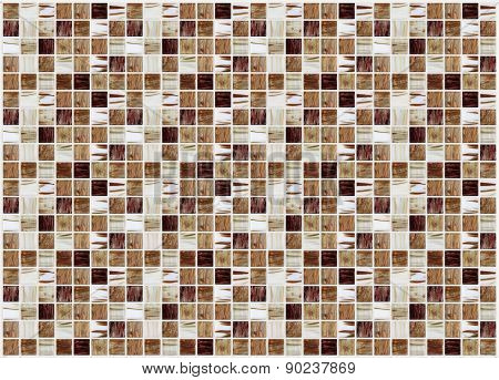 Small Colored Decorative Tiles, Mosaic