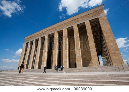 Mausoleum Of Mustafa Kemal Ataturk