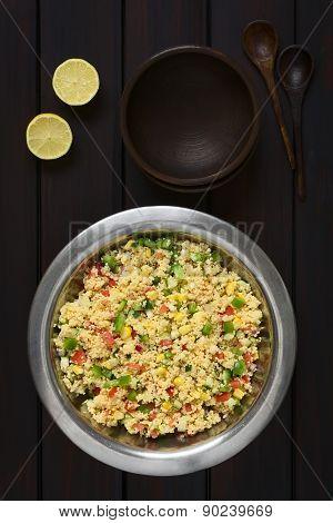 Vegetarian Couscous Salad