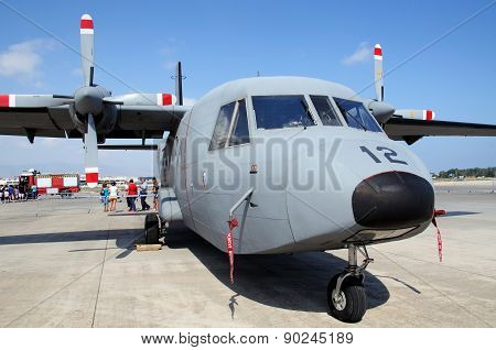 CASA 212 Military Transport Plane.