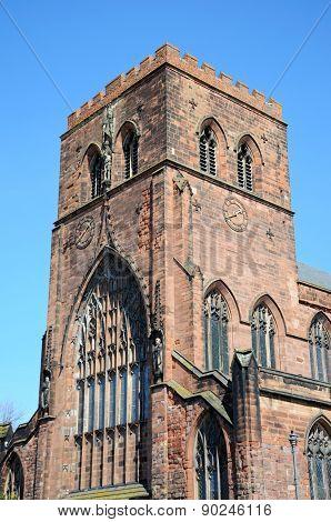 Shrewsbury Abbey Clock Tower.