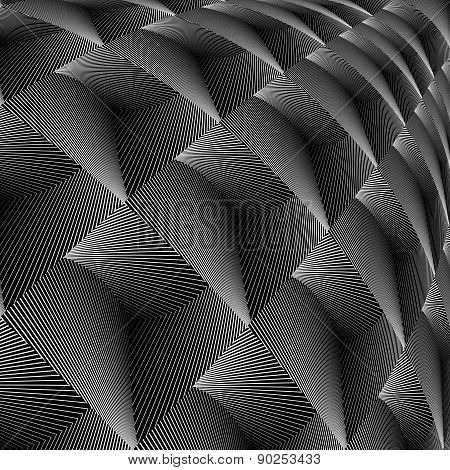 Design Diamond Concave Texture