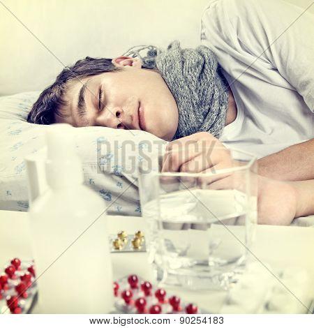 Sick Young Man