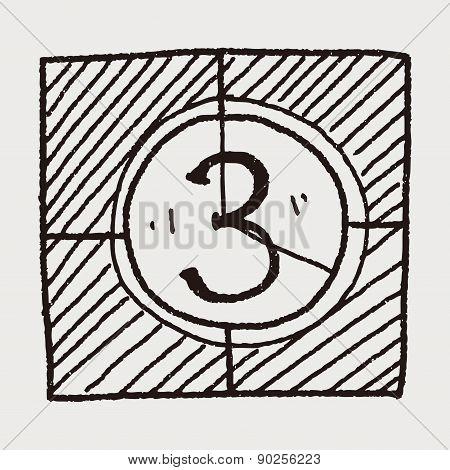 Film Countdown Doodle