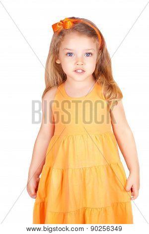Cute Little Girl Smiling