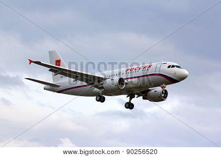 Rossiya Airbus Acj319