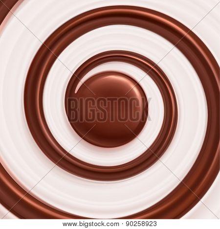 Sweet Spiral Background