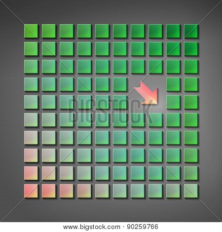 Geometry vector background