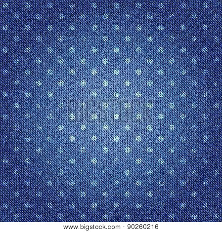Texture of denim fabric.