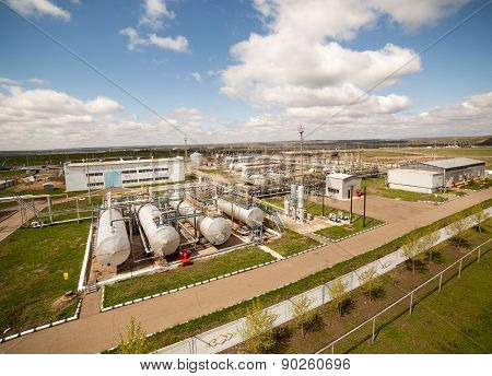 petroleum factory