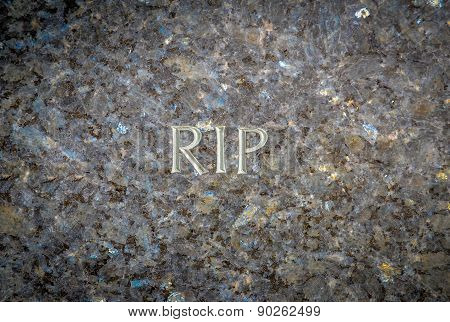 Rest In Peave Gravestone