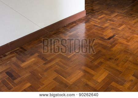 Parquet Wood Flooring Texture Background