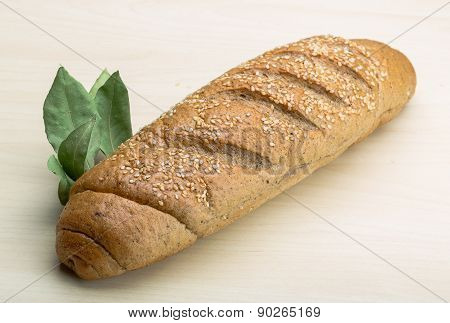 Bread - Loaf With Seeds